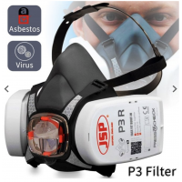 JSP Force 8 Max Protection Mask (Filters Included)